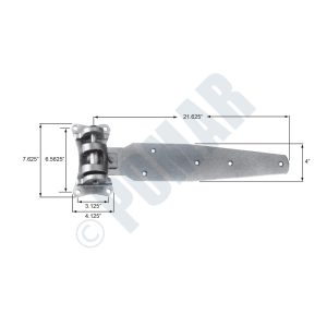 303-C Series Cam Lift Hinge