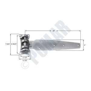 305-C Series Cam Lift Hinge