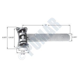 307-C Series Cam Lift Hinge
