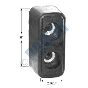 1044 Series Molded Rubber Bumper