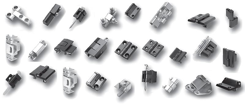 Precision Hinges - Parts Collage