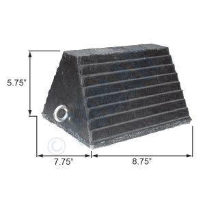1047 Series Rubber Pyramid Wheel Chock