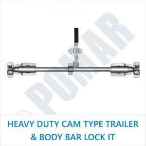 Heavy Duty Cam Type Trailer & Body Bar Lock Kit