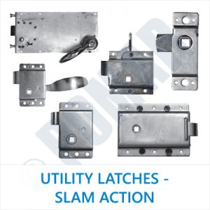 Utility Latches - Slam Action