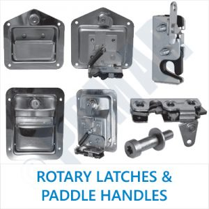 Rotary Latches & Paddle Handles