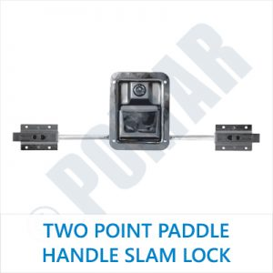 Two Point Paddle Handle Slam Lock