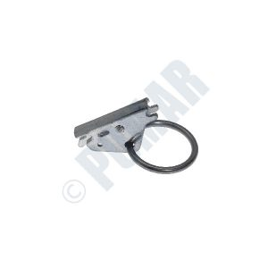"2777 Series E/A Spring Loaded Fitting With Integral 2"" Circle Ring"
