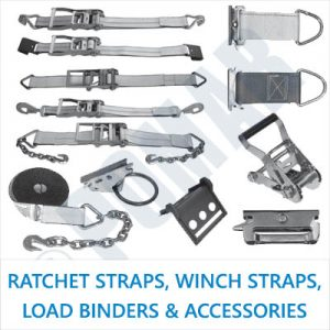 Ratchet Straps, Winch Straps, Load Binders & Accessories