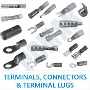 Terminals, Connectors & Terminal Lugs