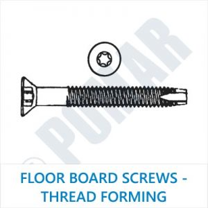 Floor Board Screws - Thread Forming