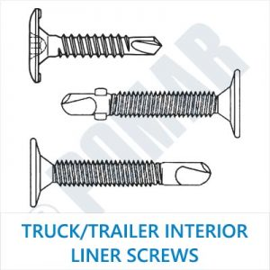Truck/Trailer Interior Liner Screws