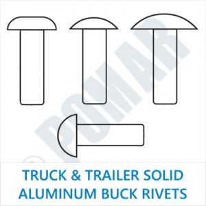Truck & Trailer Solid Aluminum Buck Rivets