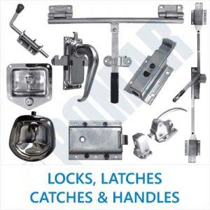 Locks, Latches, Catches & Handles